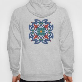 Colorful Azulejos Pattern Hoody