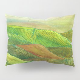 Lines in the mountains XVI Pillow Sham