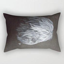 Tibetan Head Rectangular Pillow
