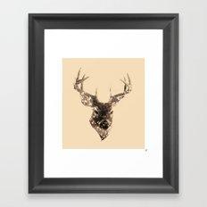 Cervus (Classic Version) Framed Art Print