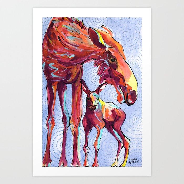 AK Goddess Art Print