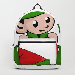 Hay How Are You Christmas Elf Backpack