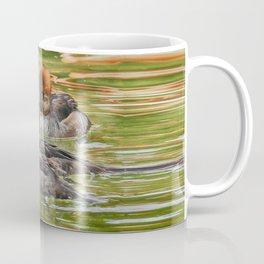 Common Merganser Trio Coffee Mug