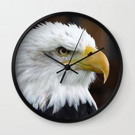 The Bald Eagle Wall Clock
