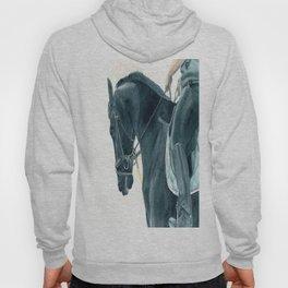 Friesian Horse 2 Hoody