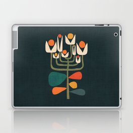 Retro botany Laptop & iPad Skin