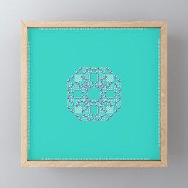 "CA Fantasy ""For Tiffany color"" series #2 Framed Mini Art Print"