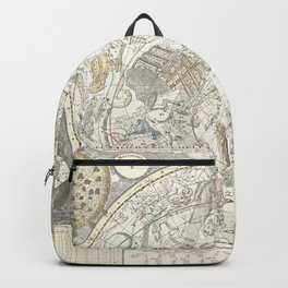 Star map of the Southern Starry Sky Backpack