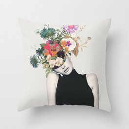 Floral beauty Throw Pillow