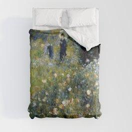 """Auguste Renoir """"Femme avec parasol dans un jardin"""" Comforters"""