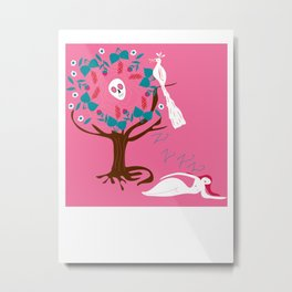 Tree Dream Metal Print
