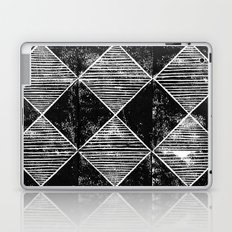 Chequers I Black Laptop & iPad Skin