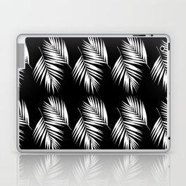 Palm Leaves Pattern #9 #White #Black #decor #art #society6 Laptop & iPad Skin