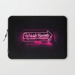 Wash Room - Neon Sign Laptop Sleeve