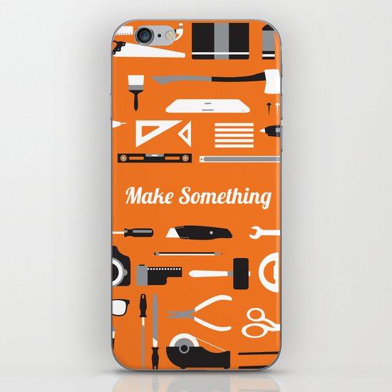 Make Something! iPhone & iPod Skin