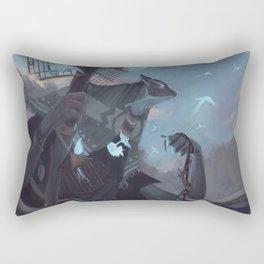 The Dreamteller of the Departed Rectangular Pillow