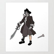 Pirate Prosthetics Art Print