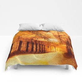Infernal Prison Corridor Comforters