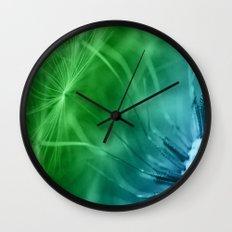 Dandelion Seeds Wall Clock