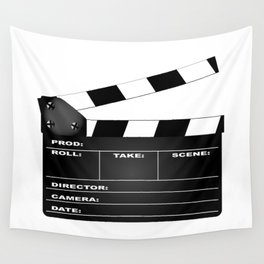 Clapperboard Wall Tapestry