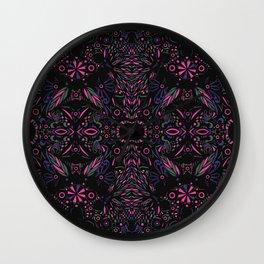 Modern Tribal Wall Clock