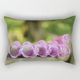 Foxglove Fower Rectangular Pillow
