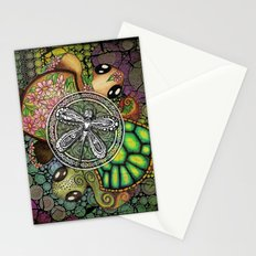Baby Turtle Art Blend Stationery Cards