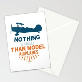 Model aircraft propeller aircraft kit Stationery Cards