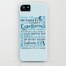 Harry Potter - All Quotes  Slim Case iPhone (5, 5s)