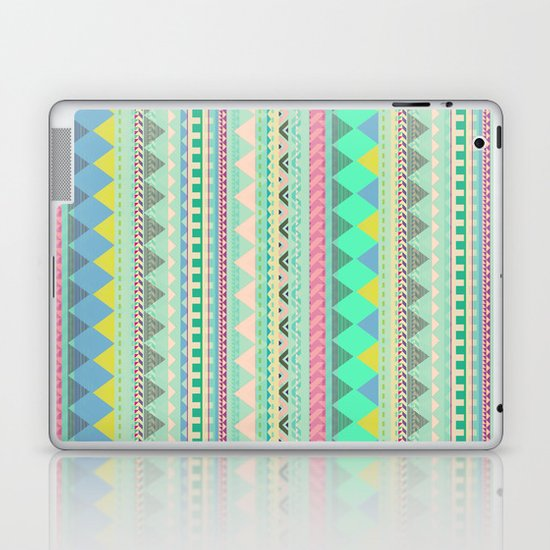 PASTEL AZTEC Laptop & iPad Skin