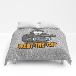 RATATATAT Went The Cat Comforters