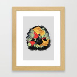 Death of Autumn Framed Art Print