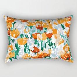 Isadora #illustration #painting #botanical Rectangular Pillow