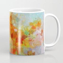 Abstract and Minimalist Landscape Painting Coffee Mug
