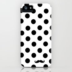 Dots mustache iPhone (5, 5s) Slim Case