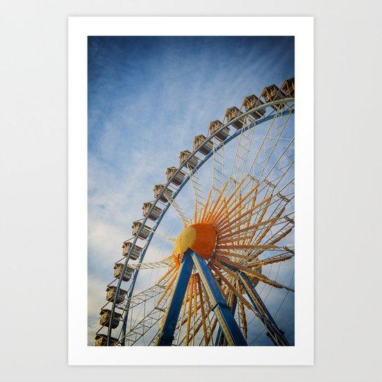 Fairground Attraction Art Print