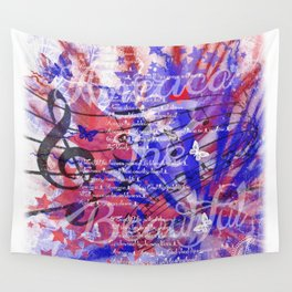 America The Beautiful Wall Tapestry