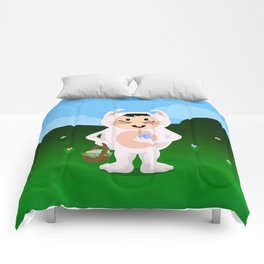 Eager Easter Boy Comforters