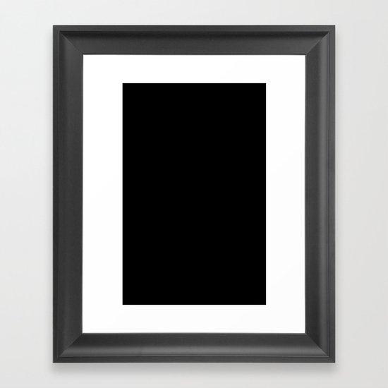 Not Poison Framed Art Print