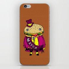 the mayor iPhone & iPod Skin