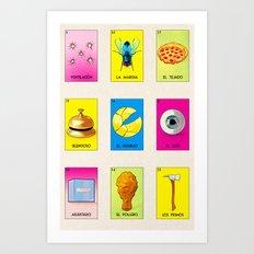 BB LOTERIA POD CASE & SKIN Art Print