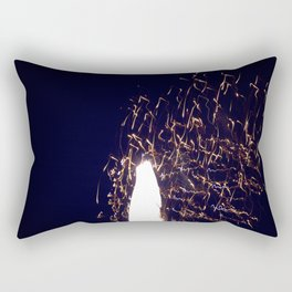White Noise Rectangular Pillow