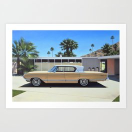 Mercury In Driveway Art Print