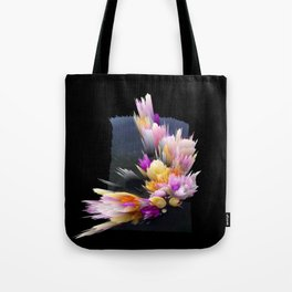 flowers 3d abstract digital painting Tote Bag