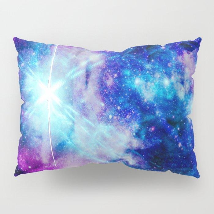 galaxy Nebula Star Pillow Sham