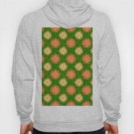 Flower Polka Dot Pattern Hoody