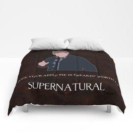 Supernatural - Dean Winchester Comforters