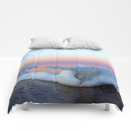 Viking Iceship on the Sea Comforters