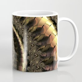 Gold Escheresque Coffee Mug