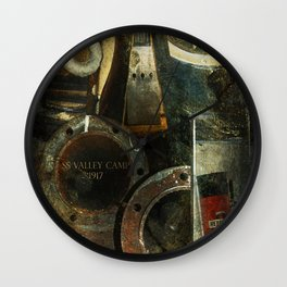 Historic Ship Wall Clock